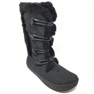 Women's Earth Lodge Tall Winter Boots Size 11B